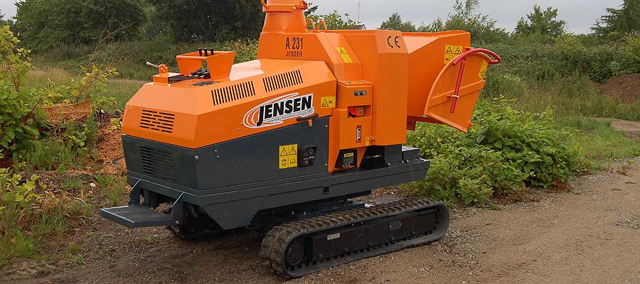 Jensen Holzhackmaschinen